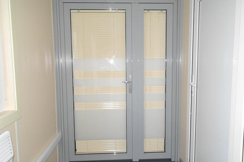 Дверь стеклянная - модель 12