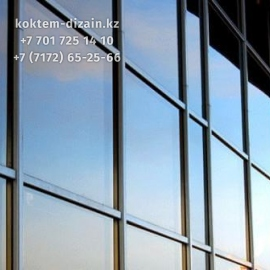 Полное остекление зданий в Нур-Султане от Коктем Дизайн