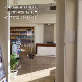 Стеклянные двери от компании Коктем Дизайн