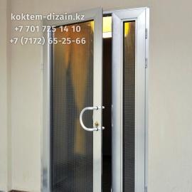 Алюминиевые двери от Коктем Дизайн