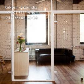 Установка алюминевых стеклопакетов от Коктем Дизайн