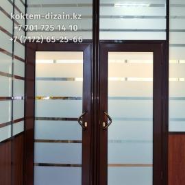 Стеклянные двери в Нур-Султане от Коктем Дизайн