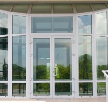 Алюминиевые двери-8 - фото от Коктем Дизайн Астана