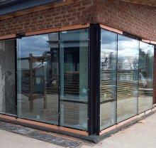 Алюминиевые двери-9 - фото от Коктем Дизайн Астана