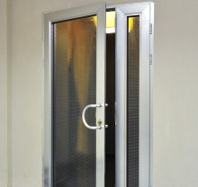 Алюминиевые двери-2 - фото от Коктем Дизайн Астана