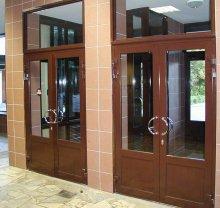 Алюминиевые двери-10 - фото от Коктем Дизайн Астана