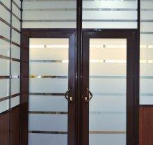 Алюминиевая дверь-12 - фото от Коктем Дизайн Астана