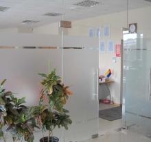 Дверь стеклянная - модель 03 - фото от Коктем Дизайн Астана