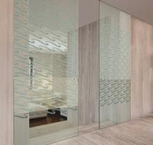 Дверь стеклянная - модель 06 - фото от Коктем Дизайн Астана