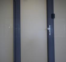 Дверь стеклянная - модель 09 - фото от Коктем Дизайн Астана