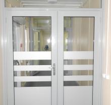 Стеклянные двери модель 11 - фото от Коктем Дизайн Астана