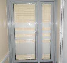 Дверь стеклянная - модель 12 - фото от Коктем Дизайн Астана