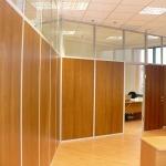офисные глухие перегородки от компании Коктем Дизайн Астана