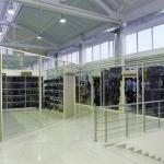 торговые стекляные бутик от компании Коктем Дизайн Астана
