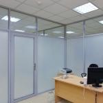 офисные матовые перегородки  от компании Коктем Дизайн Астана