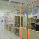 стеклянный бутик в ТЦ от компании Коктем Дизайн Астана