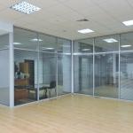 офисные перегородки стекляные от компании Коктем Дизайн Астана
