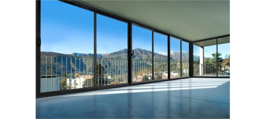 Алюминиевые окна - фото с сайта Коктем Дизайн