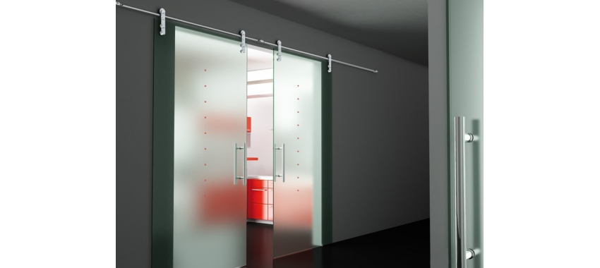 Дверь стеклянная - модель 07
