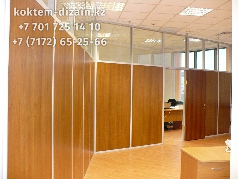 Перегородки для офиса - фото с сайта Коктем Дизайн