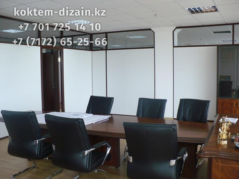 Кабинет для переговоров - фото с сайта Коктем Дизайн