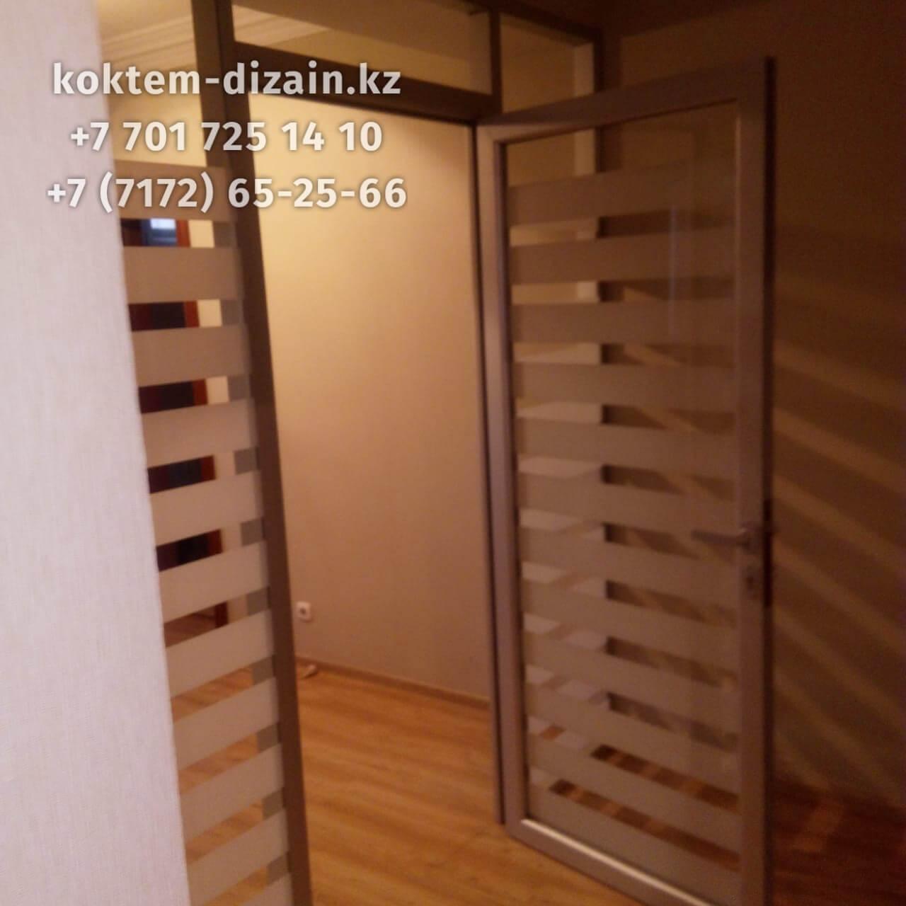 Стеклянные двери - фото с сайта Коктем Дизайн