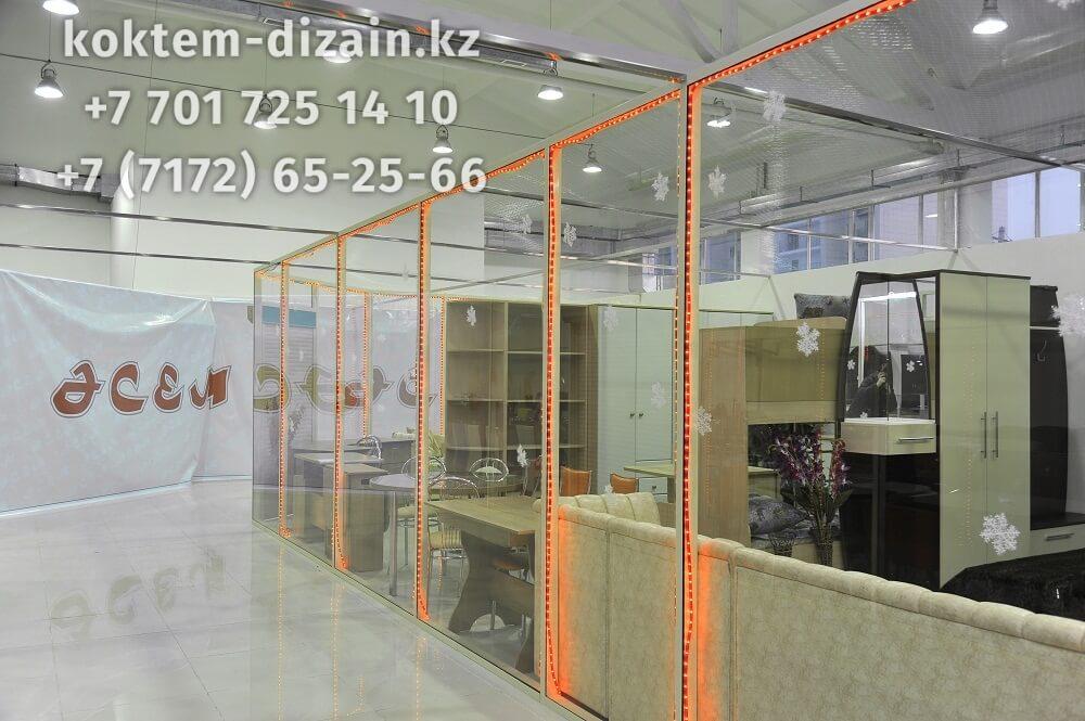 Бутики - фото с сайта Коктем Дизайн