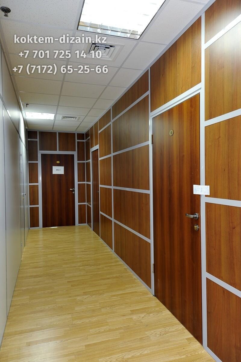 Глухие перегородки для офиса - фото с сайта Коктем Дизайн